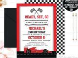 Race Car Party Invitation Templates Editable Birthday Invitations Templates Free Race Car Boy