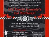 Race Car themed Birthday Invitations Free Printable Race Car Birthday Party Invitations