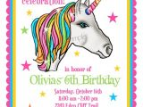 Rainbow Unicorn Birthday Invitations Free Unicorn Invitations Unicorn Birthday Party Invitations