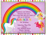 Rainbow Unicorn Birthday Invitations Free Unicorn Rainbow Birthday Invitation Digital File