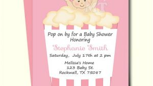 Ready to Pop Baby Shower Invitations Free Ready to Pop Baby Shower Invitation Cute Popcorn