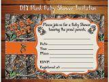 Realtree Camo Baby Shower Invitations Baby Shower Invitation Luxury Realtree Camo Baby Shower