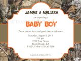 Realtree Camo Baby Shower Invitations Girl or Boy Realtree Camo Baby Shower Birthday Invitation
