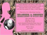 Realtree Camo Baby Shower Invitations Realtree Camo & Pink Girl Baby Shower Invitations Party