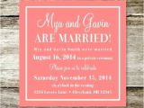 Reception Invitations after Private Wedding New Wedding Reception Invitation Wording after Private