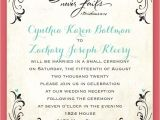 Reception to Follow On Wedding Invitation Wedding Invitation Wording Cocktail Hour and Reception to