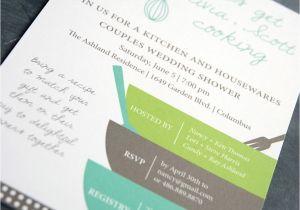 Recipe themed Bridal Shower Invitations Items Similar to Bridal Shower Invitation and Matching