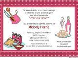 Recipe themed Bridal Shower Invitations Raspberry Kitchen Shower Invitation Recipe Card Deep