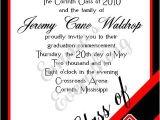 Red and Black Graduation Invitations Corner Year Graduation Invitation Red Black Eric