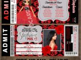 Red and Black Quinceanera Invitations event Photo Cards Red Quinceanera Invitations Modern and