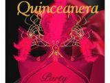 Red and Black Quinceanera Invitations Quinceanera Red Black Gold Mask Masquerade Custom