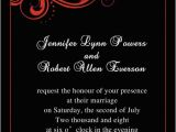 Red and Black Wedding Invitations Cheap Red Wedding Invitations Online