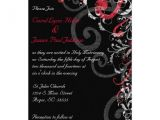 Red and Black Wedding Invitations Cheap Wedding Invitation Inspirational Red and Black Wedding
