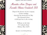 Red and White Wedding Invitation Templates Black and Red Wedding Invitations Template Best Template
