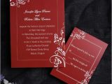 Red and White Wedding Invitation Templates Wedding Invitation Templates Red and White Wedding
