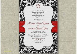 Red Black and White Baby Shower Invitations Baby Shower Invitation Best Red Black and White Baby