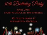 Red Carpet theme Party Invitations Red Carpet Invitation Personalized Party Invites