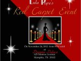 Red Carpet theme Party Invitations Red Carpet Party Invitations Cimvitation