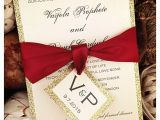 Red White and Gold Wedding Invitations 25 Best Ideas About Glitter Wedding Invitations On