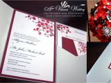 Red White and Silver Wedding Invitations Red Designs A Vibrant Wedding
