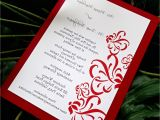 Red White and Silver Wedding Invitations White Silver and Red Wedding Invitations Decorating Of Party