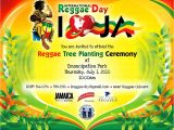 Reggae themed Party Invitations Ird2010 Post event Release