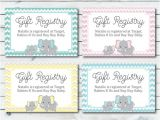 Registry Inserts for Wedding Invitations Baby Registry Cards Registry Inserts Baby Shower Gift