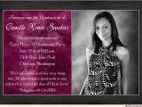 Religious Graduation Invitations Confident Christian Open House Invitation Faith Woman