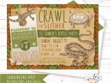 Reptile Party Invites Reptile Birthday Invitation Reptile Party Invitation Boys