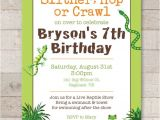Reptile Party Invites Reptile Birthday Invitations Safari Jungle Bugs Insects