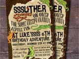 Reptile Party Invites Reptile Party Invitation Boys Birthday Invitation Reptile