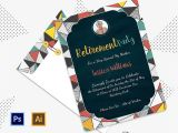 Retirement Party Invite Template Party Invitation Template 31 Free Psd Vector Eps Ai