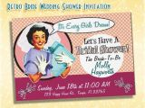 Retro Housewife Bridal Shower Invitations How to Throw A Retro Housewife Bridal Shower