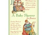 Rhyming Baby Shower Invitations Nursery Rhyme Baby Shower Invitation