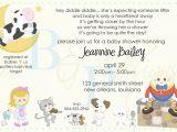 Rhyming Baby Shower Invitations Nursery Rhymes Invitations Baby Shower Ideas