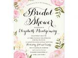 Rifle Paper Bridal Shower Invitations Modern Vintage Pink Floral Bridal Shower 5×7 Paper