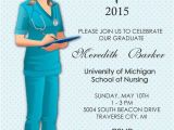 Rn Graduation Invitations Nurse Graduation Invitation Nursing School by Announceitfavors