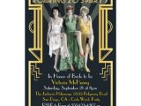 Roaring 20 S Flapper Party Invitations 123 Great Gatsby Party Invitations Great Gatsby Party