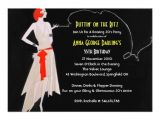 Roaring 20 S Flapper Party Invitations Red Roaring 20 39 S Flapper Party Invitations Zazzle