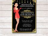 Roaring 20 S Flapper Party Invitations Roaring 20s Flapper Birthday Party Invitation Printable