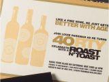 Roast Birthday Party Invitations 40th Birthday Invitation Roast toast by Suitepaper On