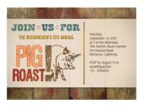 Roast Birthday Party Invitations Pig Roast Barbecue Party Invitations 5 Quot X 7 Quot Invitation