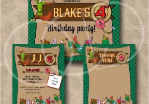 Robin Hood Birthday Party Invitations Unavailable Listing On Etsy
