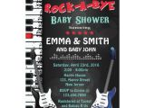 Rock A bye Baby Shower Invitations Rock A bye Baby Shower Invitation