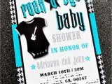 Rock and Roll Baby Shower Invitations Rock A bye Baby Invitation Printable