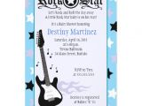 "Rock Star Baby Shower Invitations Rock Star 5×7 Rocker Baby Shower Invitation 5"" X 7"