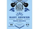 Rock Star Baby Shower Invitations Rock Star Baby Shower Invitation
