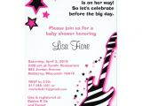 Rock Star Baby Shower Invitations Rock Star Girl Guitar Baby Shower Invitations