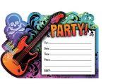 Rock Star Birthday Invitation Templates Creative Rock Star Birthday Party Home Party theme Ideas