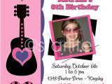 Rock Star Birthday Party Invitation Wording Items Similar to Karaoke Pop Rock Star Birthday Party